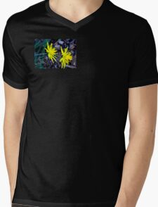 Spiky Daffodils.  Mens V-Neck T-Shirt