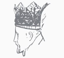 A Complete Guide to Heraldry - Figure 645 — Crown of King Henry IV (1399-1413) (From his monument in Trinity Chapel, Canterbury Cathedral) Kids Tee