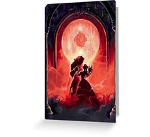 Beauty and The Beast - Murales Greeting Card