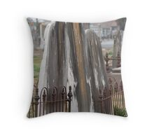 'Leaning close' Throw Pillow