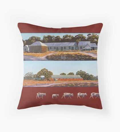 workplace relations Throw Pillow