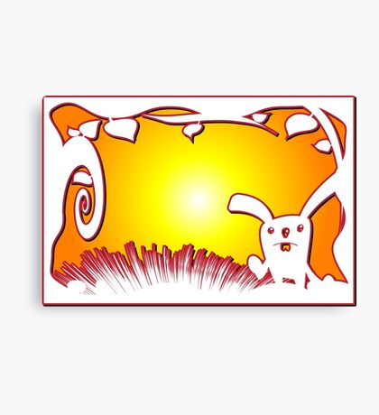 Easter Bunny 4 Canvas Print