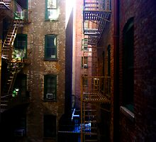 NYC Apartment Window View Part One by raae