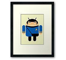 Dr. Spock BugDroid Framed Print