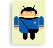 Dr. Spock BugDroid Canvas Print