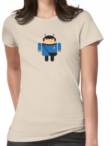 Dr. Spock BugDroid Womens Fitted T-Shirt