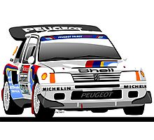 Peugeot 205 T16 Group B Photographic Print