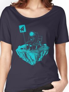 Waiting for my rocket bus Women's Relaxed Fit T-Shirt