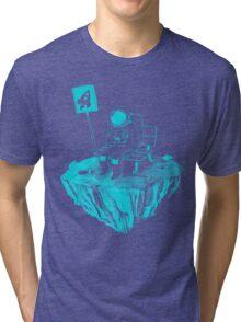 Waiting for my rocket bus Tri-blend T-Shirt