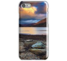 Sunset over Loch Long iPhone Case/Skin
