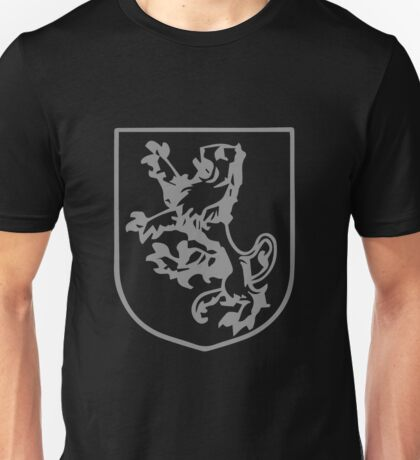 A Complete Guide to Heraldry - Figure 293 — Lion coward Unisex T-Shirt