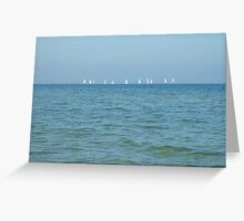 Sail out to Sea Greeting Card