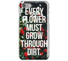 Motivational Life Quote iPhone Case/Skin