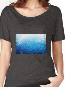 Ice Blue Women's Relaxed Fit T-Shirt