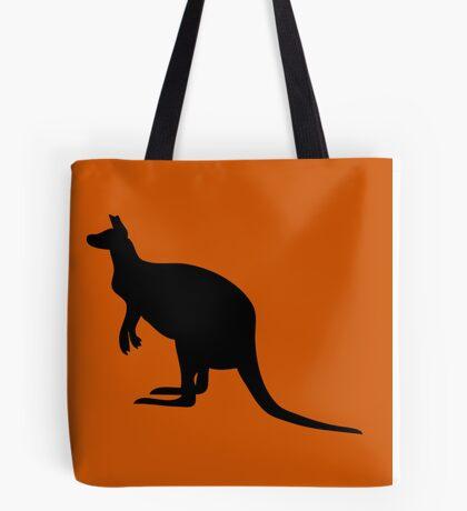 Kangaroo Silhouette  Tote Bag