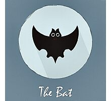 The Bat Cute Portrait Photographic Print