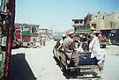 Streetscene, Landi Kotal by John Douglas