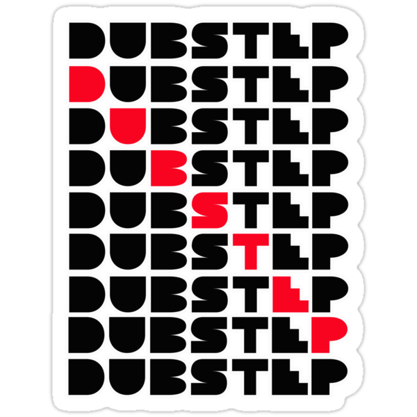 Dubstep wall by dustyvinylstore