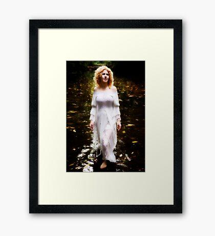 The Swan Maiden Framed Print