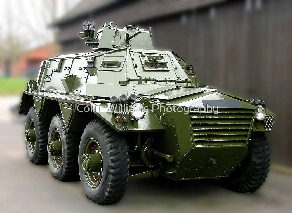Saracen Armoured Car by Colin  Williams Photography