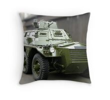 Saracen Armoured Car Throw Pillow