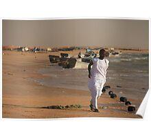 Mauritanian Fisherman Poster