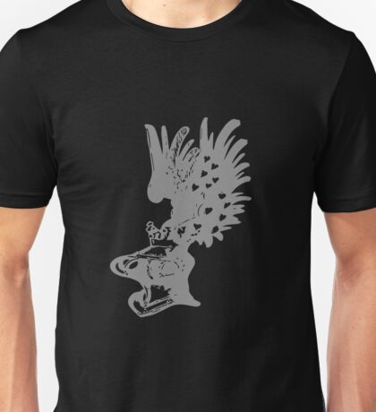 A Complete Guide to Heraldry - Figure 609 — Pageant Helmet, with the Crest of Austria (ancient) or Tyrol Unisex T-Shirt