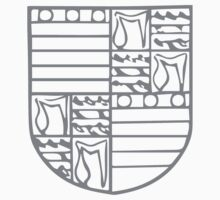 A Complete Guide to Heraldry - Figure 122 — Arms of Edmund Grey, Earl of Kent (d 1489) Kids Tee