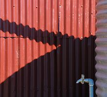 Watertank shadow and tap by Speedy