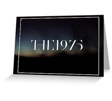 the 1975 logo with landscape Greeting Card