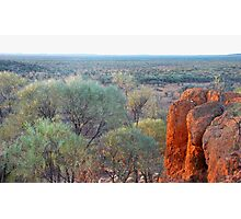 Mulga country near Quilpie, Qld Photographic Print