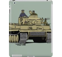 The Dogs of War: Tiger Tank iPad Case/Skin