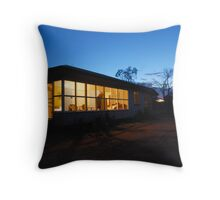 Outback farm cottage at dusk Throw Pillow