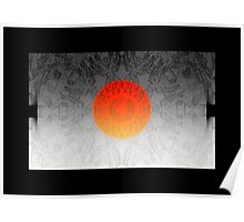 The Sun rises in the east, and sets on the west Poster