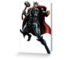 Thor - Marvel Heroes Collection Greeting Card