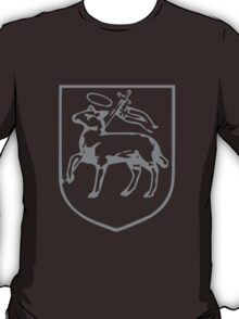 A Complete Guide to Heraldry - Figure 398 — Paschal lamb T-Shirt