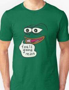 Feels Good Man Pepe the Frog Unisex T-Shirt
