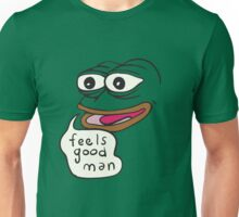Feels Good Man Pepe the Frog Unisex T-Shirt