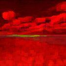Fire in the sky by Mel Brackstone