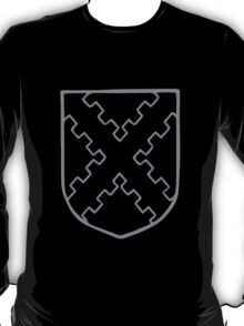 A Complete Guide to Heraldry - Figure 187 — Saltire embattled T-Shirt