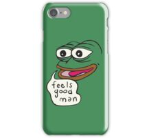 Feels Good Man Pepe the Frog iPhone Case/Skin
