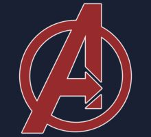 Avengers - Logo - Red by MajorDutch