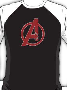 Avengers - Logo - Red T-Shirt