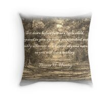 Sit down..... Throw Pillow