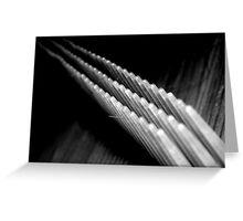 Comb Greeting Card