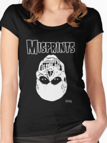 The Misprints Women's Fitted Scoop T-Shirt