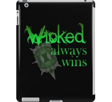 Once Upon A Time - Wicked Always Wins iPad Case/Skin