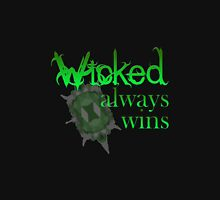 Once Upon A Time - Wicked Always Wins Mens V-Neck T-Shirt