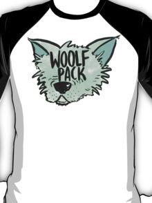 Woolf Pack Wolf Green T-Shirt