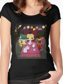 Mad Tea Party Women's Fitted Scoop T-Shirt
